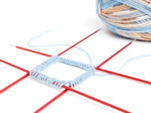 Socks knit for dummies – instructions including size chart