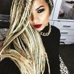 Sokak saç modası olan Zenci Saç (Afrika Örgü saç modeli) ile değişlikli...