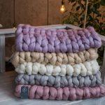 Sperrige stricken werfen Decken, Bio Merino Wolle, weiche massive Couch werfen Abdeckung, Riesen gestrickte übergroße Bett wirft, Geschenke am Weihnachtstag