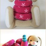 Stacking Toys [Crochet Patterns and Free Crochet Patterns