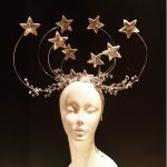 Star Headpiece- Diner en blanc -Silver headdress
