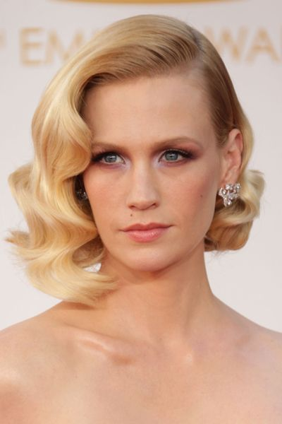 Steal This Emmys Trend: Vintage-Inspired Waves