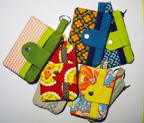 Stoffresteabbau: Noodlehead Zippy Wallet mit Tutorial – just sewn. – einfach genäht