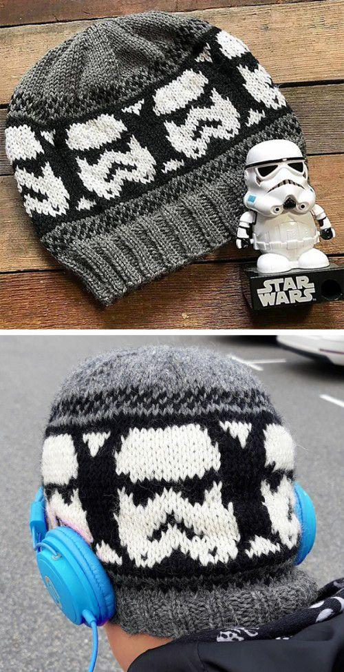 Storm Trooper Beanie – Free Pattern