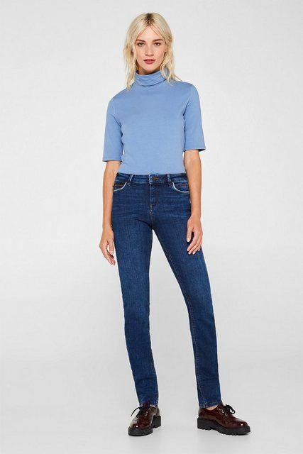 Stretch-Jeans mit Organic Cotton- Stretch-Jeans mit Organic Cotton  Stretch-Jean…