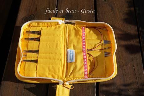 Strick-Nadel-Tasche Nr. 1