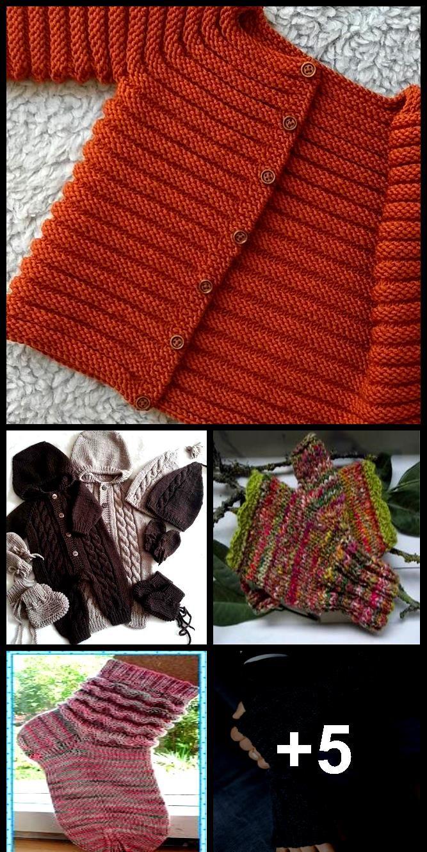 Stricken Sie Baby Strickjacke – Merino stricken Baby Strickjacke – handgestrickte Pullover – …