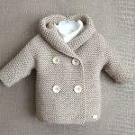 Strickjacken - Baby-Strickjacke Duffle Gr. 0-6 Monaten - ein Designerstck von lo...