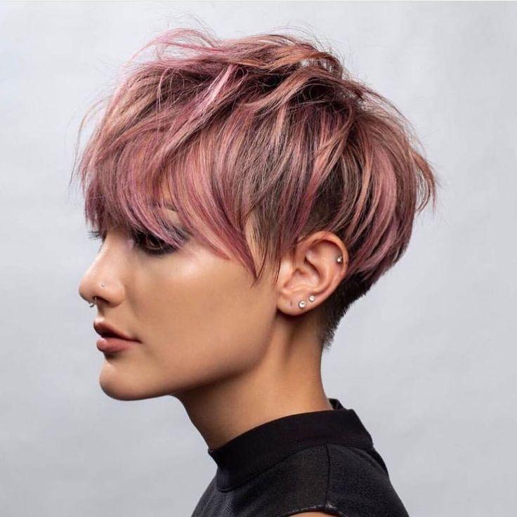 Stylish Short Hairstyles for Thick Hair, Women Short Haircut Ideas 2020