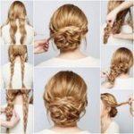 Süße, einfache Hochsteckfrisuren für lange Haare   - Haare und Frisuren - #ei...