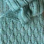 Summer Stream Schal Free Knitting Pattern – Dieser Spitzenschal … #Spitze #S...