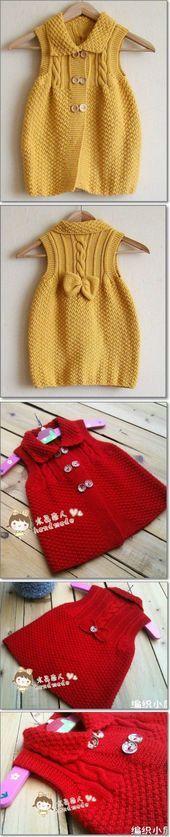 Sundress with knitting needles | knitting | Posting    #Knitting #needles #Posti…