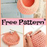 Super 15 Useful Crochet Hanging Basket - Free Pattern - #basket #Crochet #Free #...
