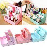 Super Cardboard Box Storage Desk Decor DIY Stationery Makeup Cosmetic Organizer -  #box #Card...