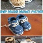 Super Cute! Baby Booties Crochet Pattern To Warm The Soul