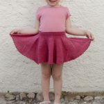 Sweet Curtsy / DROPS Children 28-9 - Knitted skirt in DROPS Fabel. Size children...