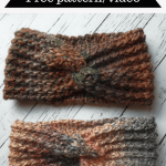TC Twist Crochet Headband -