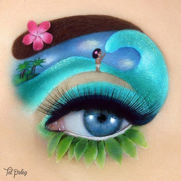 Tal Peleg is a makeup artist from Israel who creates stunning and unique eye mak… – Life with Alyda