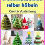 Tannenbaum häkeln – kostenlose & einfache Anleitung