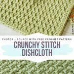 Textured Crochet Washcloths Free Patterns - Free Crochet Patterns