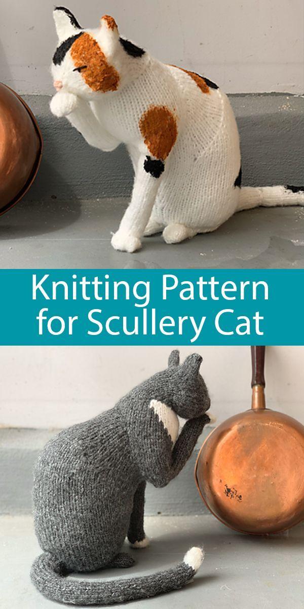 The Scullery Cat Knitting pattern by Sara Elizabeth Kellner