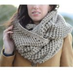 The Traveler Knit Infinicowl Scarf Pattern