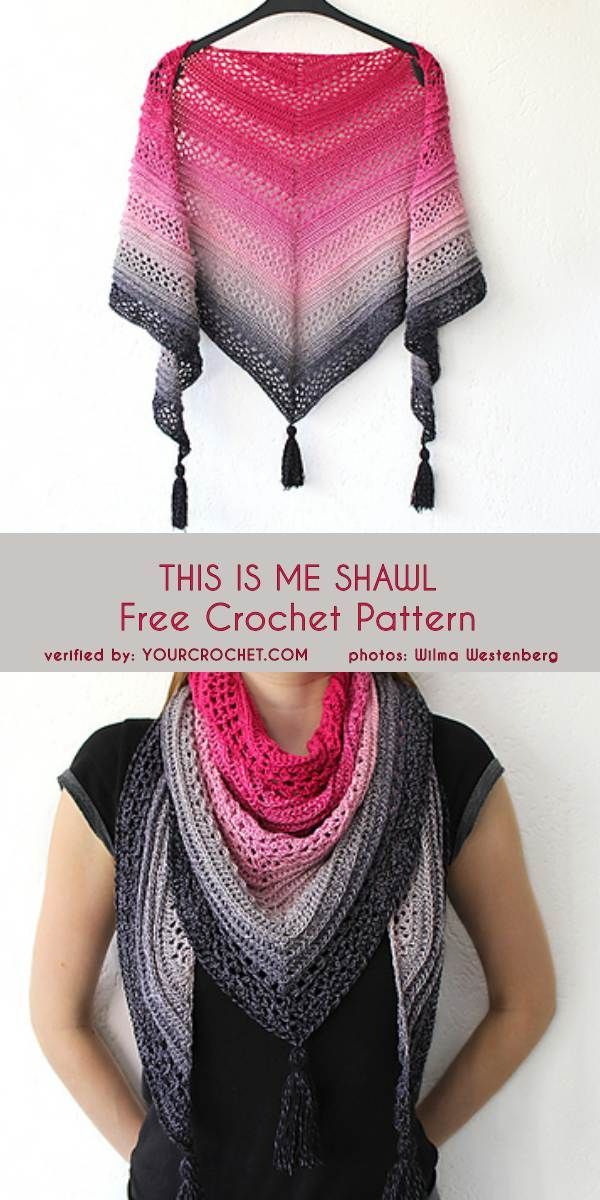 This Is Me Shawl Free Crochet Pattern