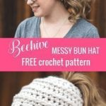 This Messy Bun Hat Pattern is Yours, Free!
