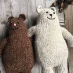 This list of adorable knitting patterns for babies showcases modern knitting pat...