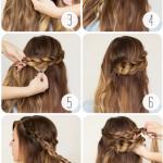 Top 10 Beautiful Romantic Hairstyle Tutorials - Top Inspired