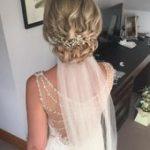 Top 15 Wedding Hairstyles for Medium Length Hair #Blondes #Short Hair # Bridal H...