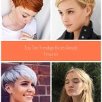Top Ten Trendige kurze gerade Frisuren  #frisuren #gerade #kurze #trendige #Kurz...