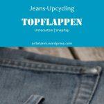 Topflappen Untersetzer Jeans-Upcycling