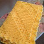 Treasured Heirloom Baby Blanket - Free Pattern