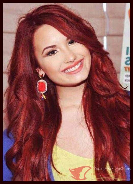 Trend Hairstylel 2016 Beste rote Haarfarbe Ideen rote Haarfarbe mit vielen