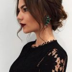 Trendiest Updos For Medium Length Hair 8