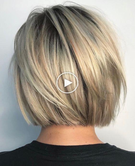 Trendige Frisuren-Ideen: Die kreativen kurzen Bob-Frisuren und geschichteten Frisuren