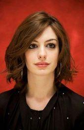 Trendy #Haarschnitt #Brünette #Anne #Hataway # 51 #Ideen ## Haarschnitt,
