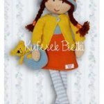 Trunk Bietki Eleonora - doll handmade knitted / Eleonora - Gestrickte Puppe / El...