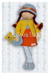 Trunk Bietki Eleonora – doll handmade knitted / Eleonora – Gestrickte Puppe / El…