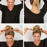 Try the easy bun to do with our photo and video gallery - Zélie