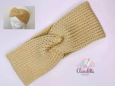 Tunisian Crochet Stitch Ear Warmer