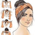 Turban-Anleitung für das Latina-Magazin