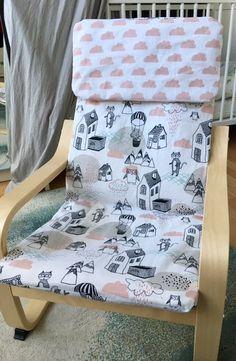 Tutorial » Bezug für Ikea Poäng Kindersessel nähen