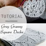 Tutorial: Grey Granny Square Decke