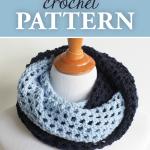 Two-Toned Infinity Cowl Crochet Pattern