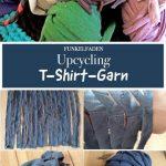 Upcycling Anleitung - T-Shirt-Garn selber machen