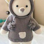 Urso de amigurumi