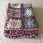VERY EASY granny square blanket tutorial for beginners