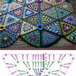 Verschiedene Blanket Designs ~~: Naver Blog, #Blanket #Blog #crochetmantas #desi...